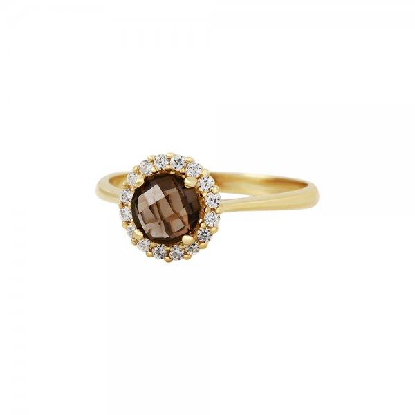 Prsten se syntetickými kameny 226-087-0951