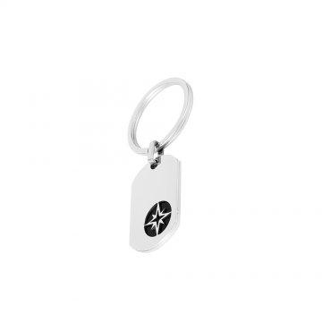 Přívěsek na klíče ocelový 890-194-000318-0000
