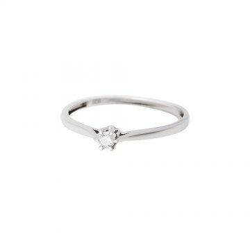Prsten soliter s briliantem 314-300-3609