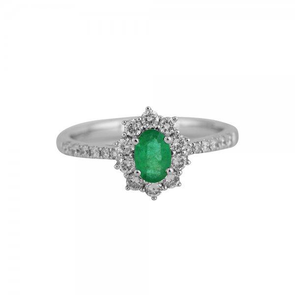 Prsten s brilianty 324-433-6524 53-2.60g