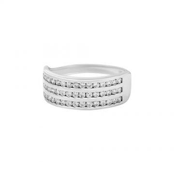 Prsten se syntetickými kameny 326-087-0067