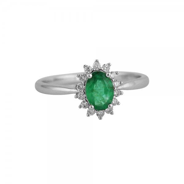 Prsten s brilianty 324-433-0332 50-2.15g