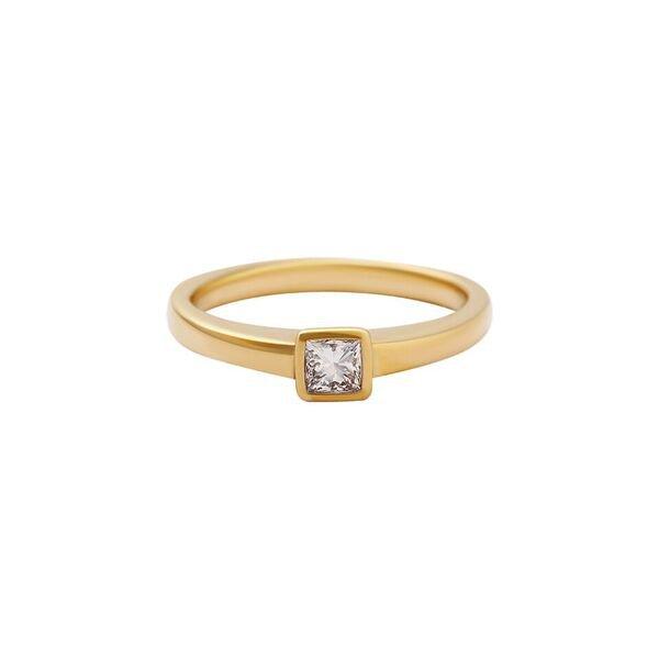 Prsten soliter s briliantem 214-435-0261 51-2.60g