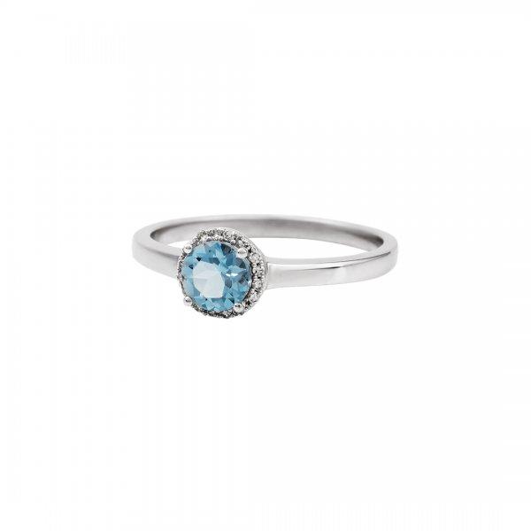 Prsten s brilianty 324-434-1762 51-2.50g