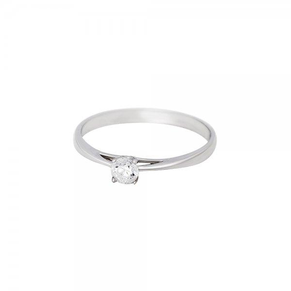 Prsten soliter s briliantem 314-356-5710 54-2.05g