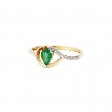 Prsten s brilianty 224-246-5259