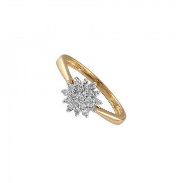 Prsten s brilianty 224-305-4207