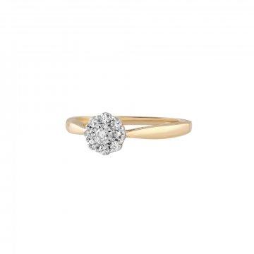 Prsten s brilianty 224-305-4236
