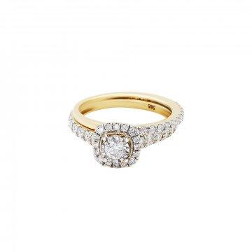 Prsten s brilianty 224-436-5704