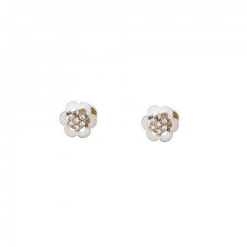 Náušnice se syntetickými kameny 236-307-251342