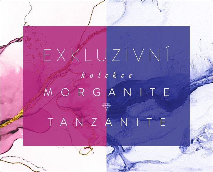 Tanzanite a Morganite