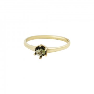 Prsten s vltavínem 224-086-3138
