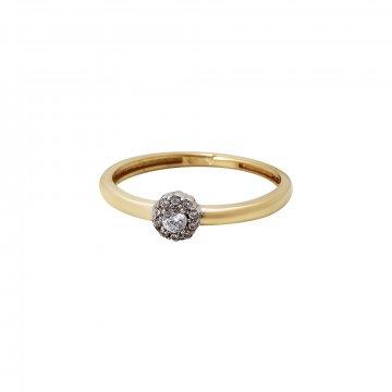 Prsten se syntetickými kameny 226-532-0121