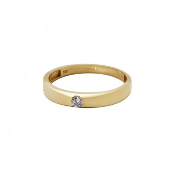 Prsten soliter se syntetickým kamenem 223-532-0210
