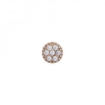 Piercing se syntetickými kameny 536-306-000001