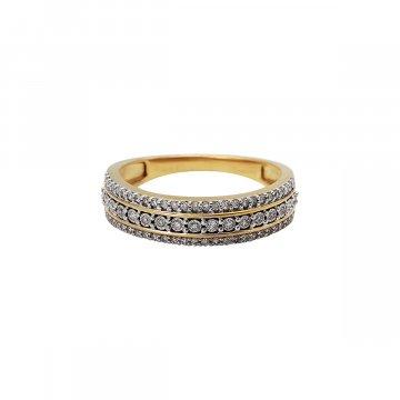 Prsten s brilianty 224-429-9909