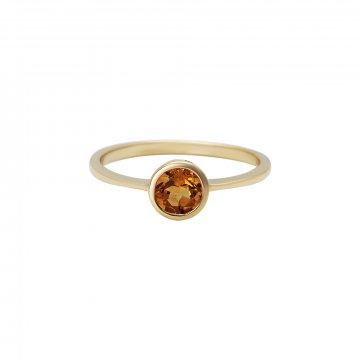 Prsten s citrínem 224-772-413C