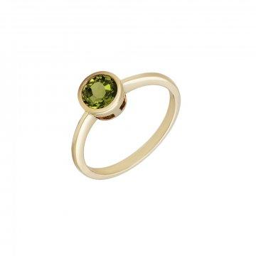 Prsten s peridotem 224-772-413P