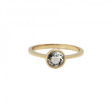 Prsten se zeleným ametystem 224-772-413Z