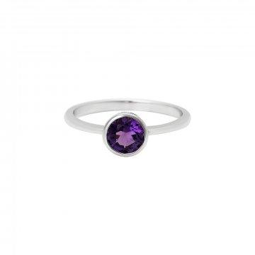 Prsten s ametystem 324-772-413A