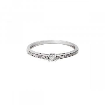 Prsten soliter s briliantem 314-429-7803