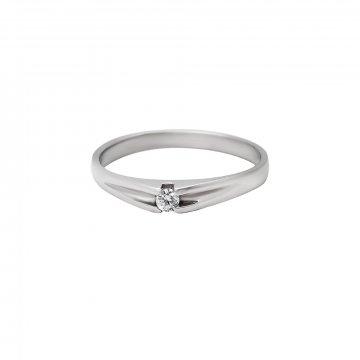 Prsten soliter se syntetickým kamenem 323-277-0203