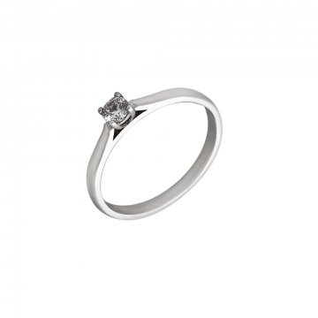 Prsten soliter se syntetickým kamenem 323-277-0735