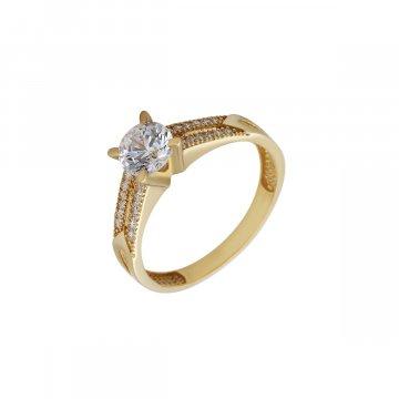 Prsten soliter se syntetickým kamenem 223-226-1318