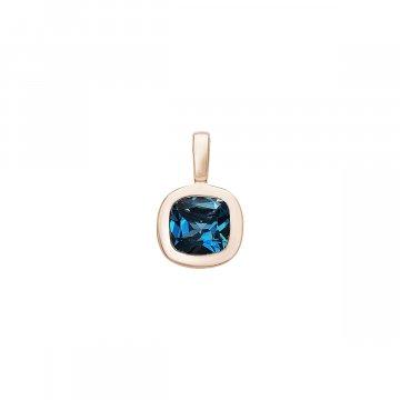 Přívěsek s London blue Topaz 544-374-283102