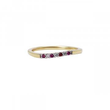 Prsten s brilianty 224-374-0783