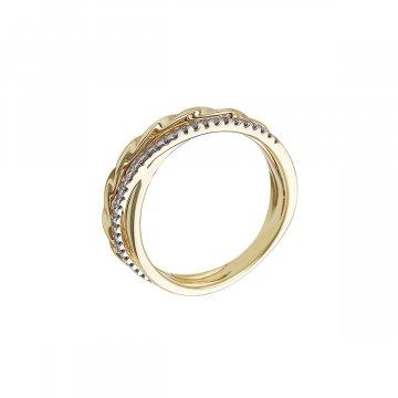 Prsten s brilianty 224-374-7416