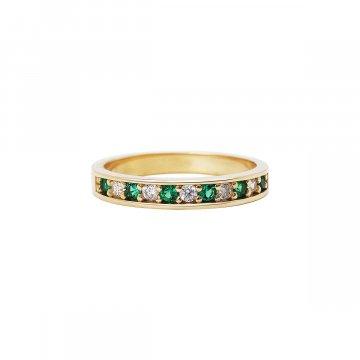 Prsten se syntetickými kameny 226-185-Z013