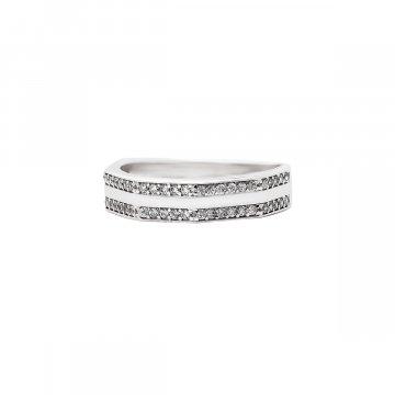 Prsten se syntetickými kameny 326-573-0099