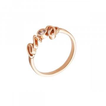 Prsten se syntetickými kameny 526-185-1916
