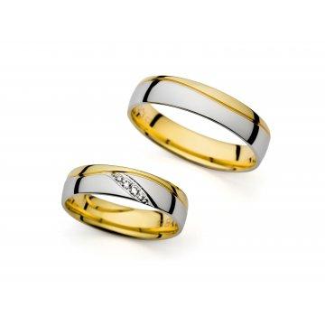 Snubní prsteny PRAHIR PM-1486