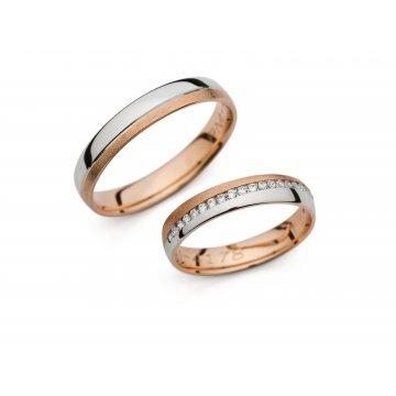 Snubní prsteny PRAHIR PM-4178