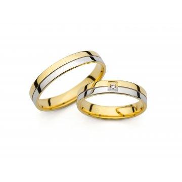 Snubní prsteny PRAHIR PM-4192