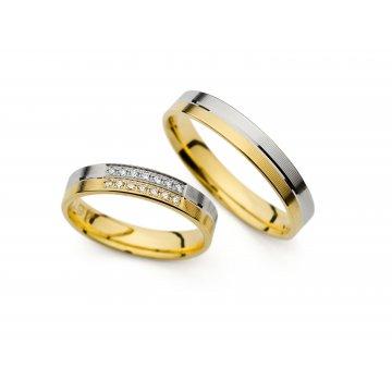 Snubní prsteny PRAHIR PM-4197