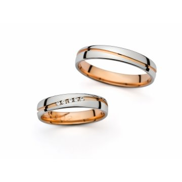 Snubní prsteny PRAHIR PM-4202