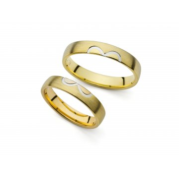 Snubní prsteny PRAHIR PM-4203