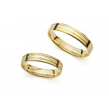 Snubní prsteny PRAHIR PM-4219