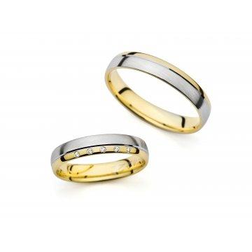 Snubní prsteny PRAHIR PM-4221