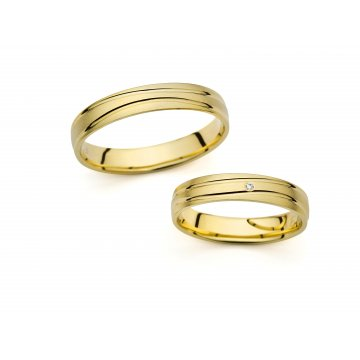 Snubní prsteny PRAHIR PM-4233