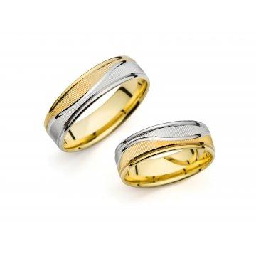 Snubní prsteny PRAHIR PM-6448