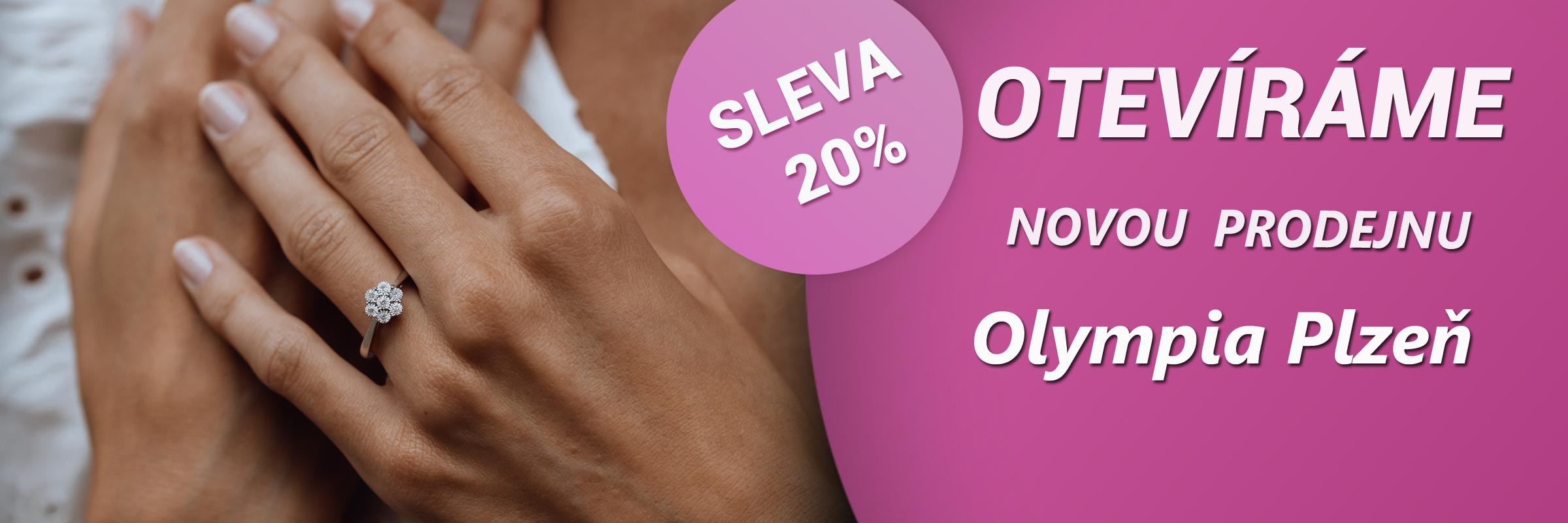 Nová prodejna v Olympia Plzeň