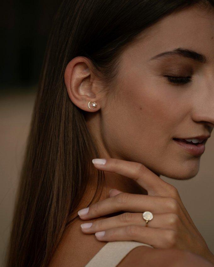 Ty nejroztomilejší náušnice pro malé i velké slečny. 💗 #klenotyaurum #sperkynejsouhrich #earrings #jewelry #gold #yellowgold