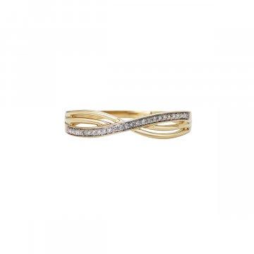 Prsten s brilianty 224-433-0605