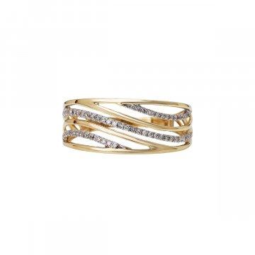 Prsten s brilianty 224-433-0750