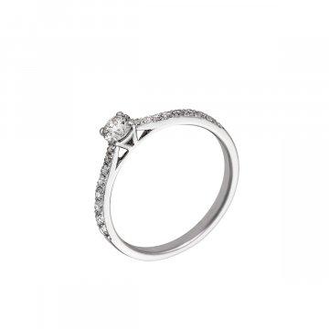 Prsten soliter s briliantem 314-300-4399