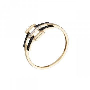 Prsten s brilianty 224-433-0143